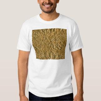 Golden Aluminium Background T-shirts