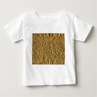 Golden Aluminium Background Tee Shirts