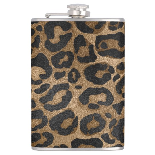 Golden and Black glitter Leopard/ Jaguar print Hip