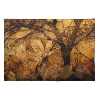 Golden and Brown Leaves | Merritt Island, FL Placemat