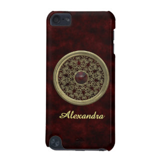 Golden and Red Ornament iPod Touch 5G Cover