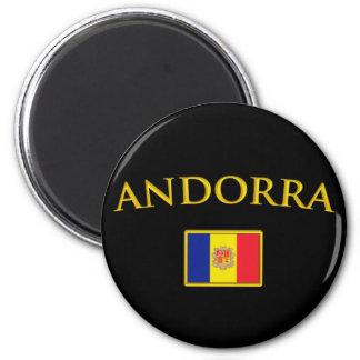 Golden Andorra Magnet