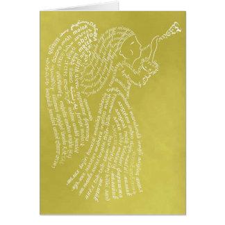 Golden Angel Card