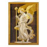 Golden Angel Greeting Card