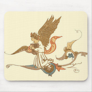 Golden Angel Mouse Pads