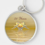 Golden Anniversary Dolphins and Heart