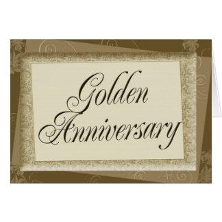 Golden Anniversary Invitation Cards