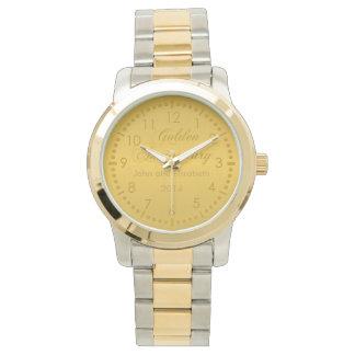 Golden Anniversary Watch