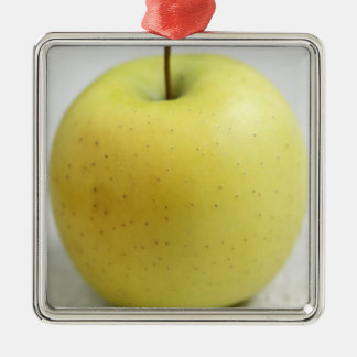Golden apple from Limousin - France - AOC For Silver-Colored Square Decoration