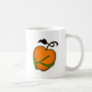 Golden Apple of Eris Basic White Mug