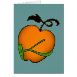 Golden Apple of Eris Greeting Card