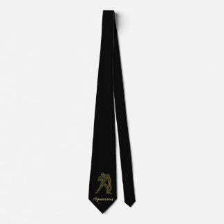 Golden Aquarius Tie
