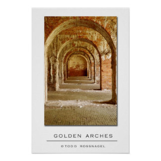 Golden Arches Poster