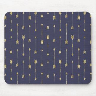 """""""Golden Arrows"""" Mouse Pad"""