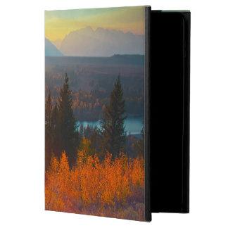 Golden Aspens Above Snake River At Sunset iPad Air Case