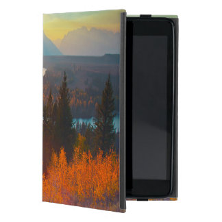 Golden Aspens Above Snake River At Sunset iPad Mini Case