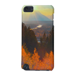 Golden Aspens Above Snake River At Sunset iPod Touch 5G Cases