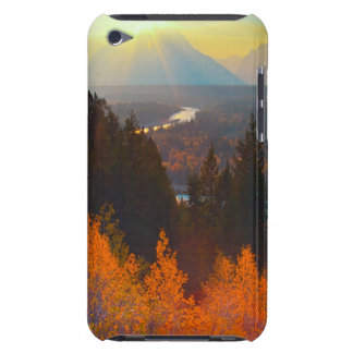 Golden Aspens Above Snake River At Sunset iPod Touch Cases
