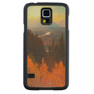Golden Aspens Above Snake River At Sunset Maple Galaxy S5 Case