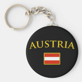 Golden Austria Key Ring