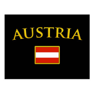 Golden Austria Postcard