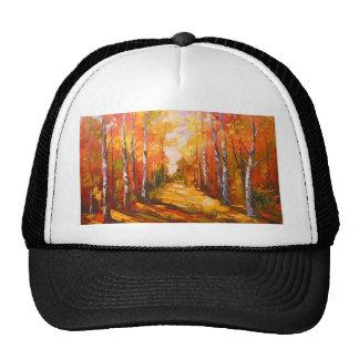 Golden autumn cap