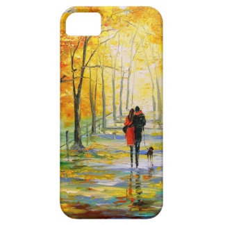 Golden autumn iPhone 5 cover