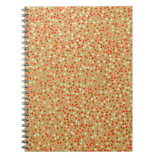Golden Backdrop Notebook