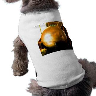 Golden Ball Sleeveless Dog Shirt