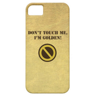 Golden Barely There iPhone 5 Case