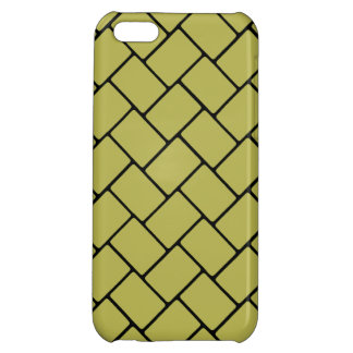 Golden Basket Weave 2 iPhone 5C Cases