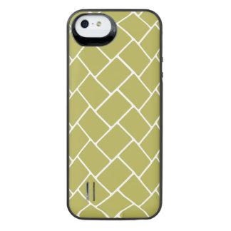 Golden Basket Weave iPhone SE/5/5s Battery Case