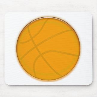 Golden Basketball Mouse Mat