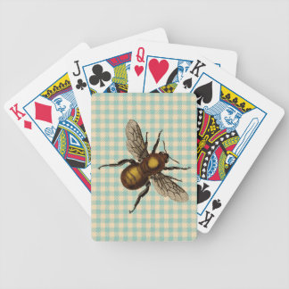 Golden Bee Art Bicycle Playing Cards