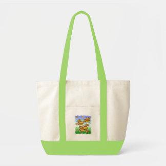 Golden Beetle Impulse Tote Bag