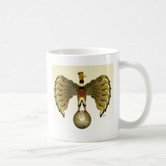 Golden Bird Basic White Mug