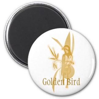 Golden Bird Magnets