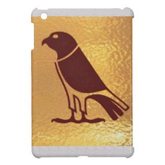 Golden BIRD of PREY Eagle Hawk Owl Graphic Art iPad Mini Cover
