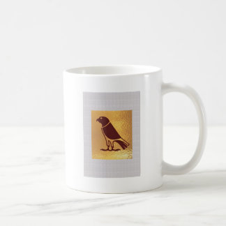 Golden BIRD of PREY Eagle Hawk Owl Graphic Art Mugs