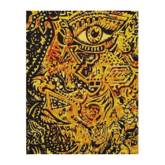 Colourful Face Art, Posters & Framed Artwork | Zazzle.co.uk
