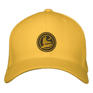 Golden Blades Embroidered Hats