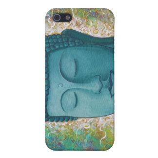 Golden Blue Buddha iPhone case iPhone 5 Cases