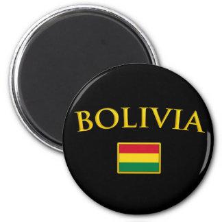 Golden Bolivia Magnet