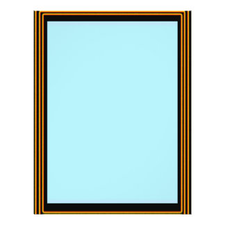 GOLDEN BORDER Plain Sheets Full Color Flyer