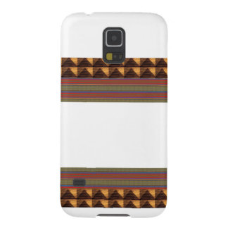 GOLDEN Border Text Box: Add Name Image TEMPLATE Galaxy S5 Covers