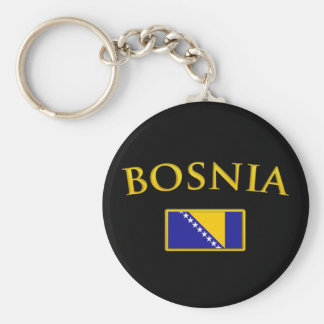 Golden Bosnia Key Ring