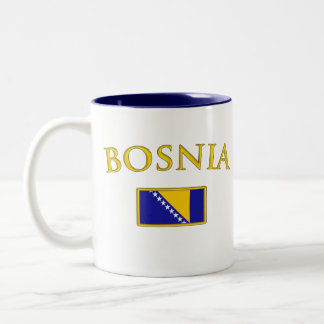 Golden Bosnia Two-Tone Coffee Mug
