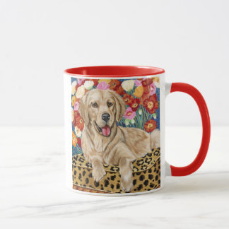 Golden Boy Retriever Mug