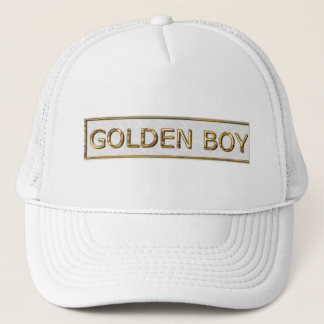 GOLDEN BOY TRUCKER HAT