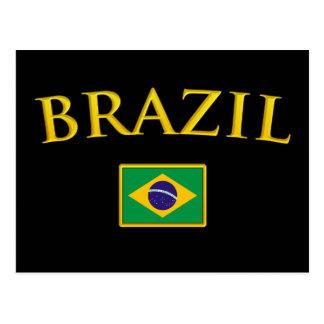 Golden Brazil Postcard